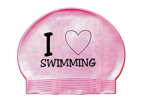 how to wear swimming cap