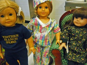 My mom's American Girl Clothe Designs