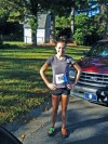 In 2010...one of my first road races!