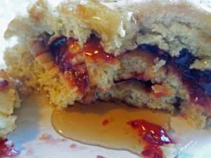 cherry pancake