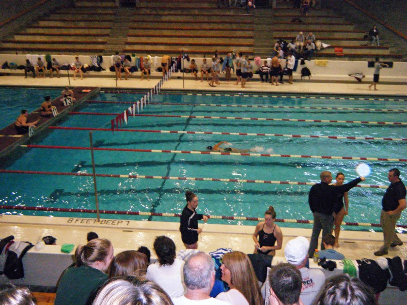 I swam miles and miles and miles...actually I swam distance events in college 1000/mile! Super #tbt
