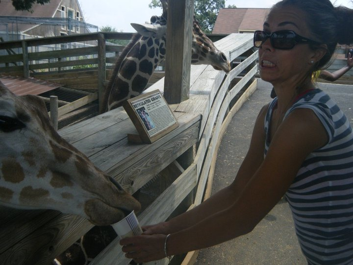 Can't you tell I'm a natural with animals?