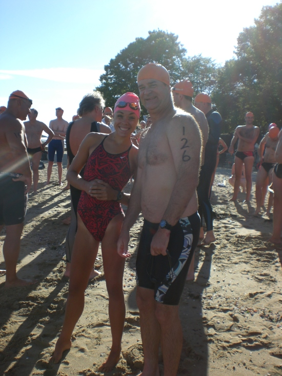 super super throw back to open water swimming (2010 perhaps?)