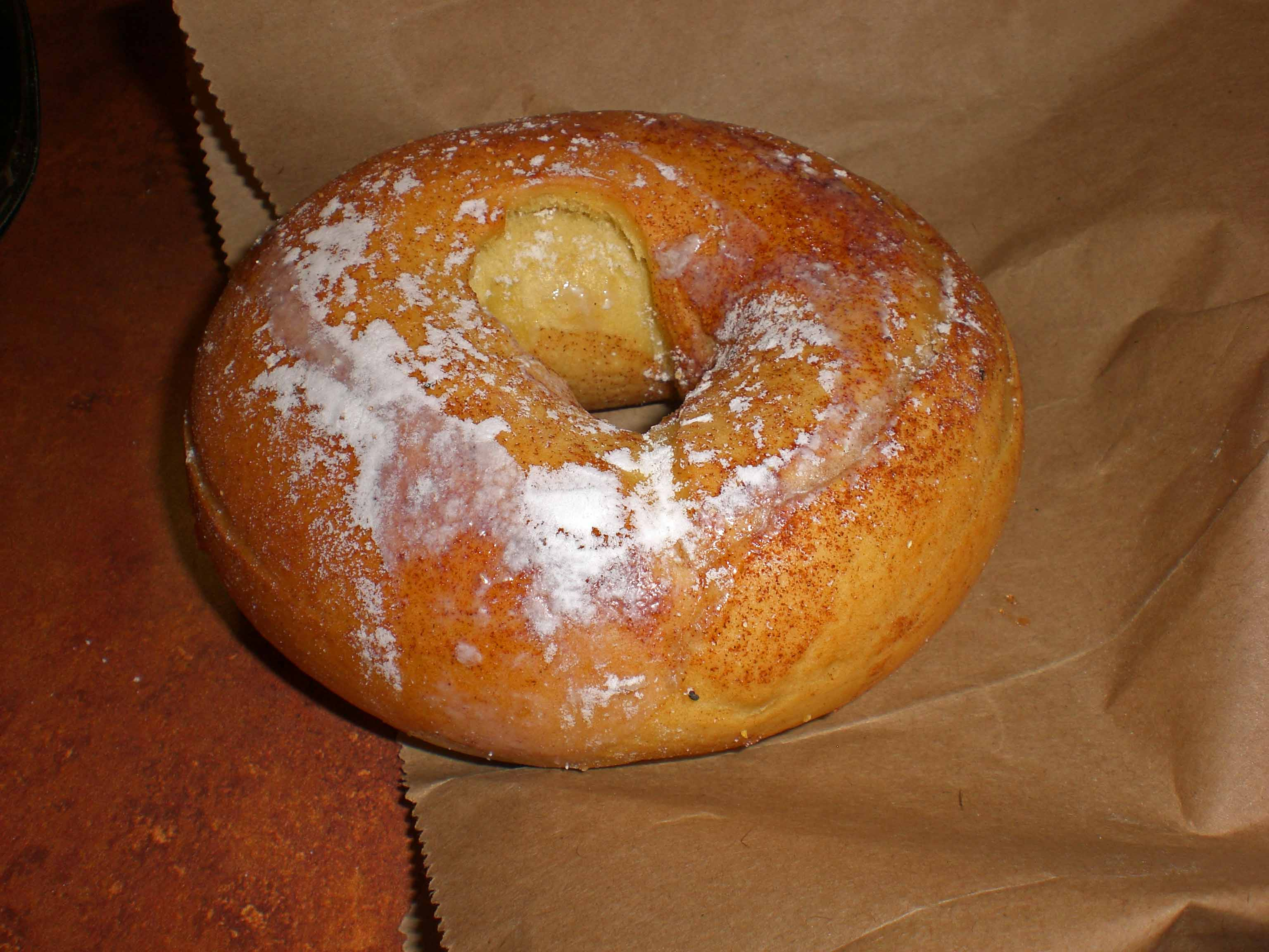 French Toast Bagels From Panera Make Their Appearence Often