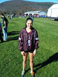 One of my first XC races.