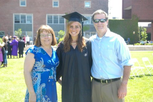 Post graduation 2 years ago.  My parents are the best.