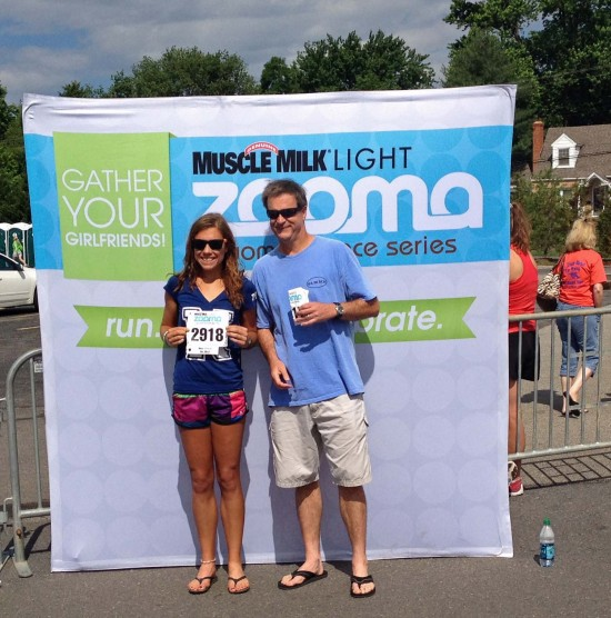 Thank you for being 1 of 50 men to run the Zooma Annapolis half with me.