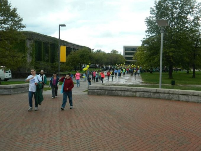 At the Walk to Save Lives Fall 2012