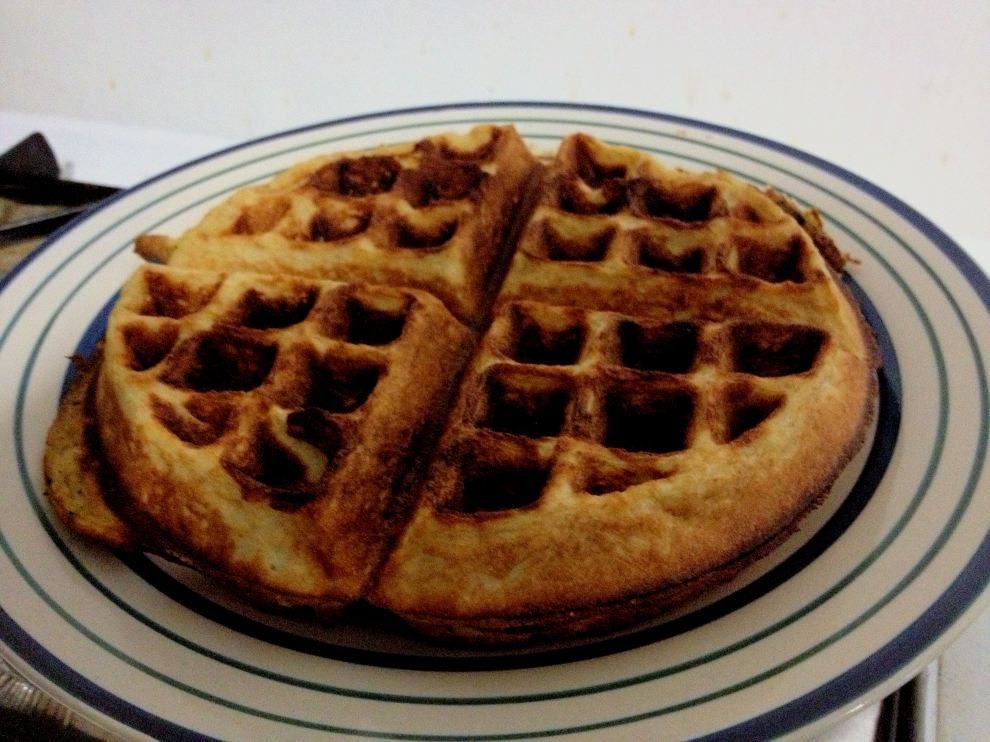 Except for waffles..