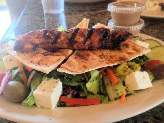 greeksaladsalmon