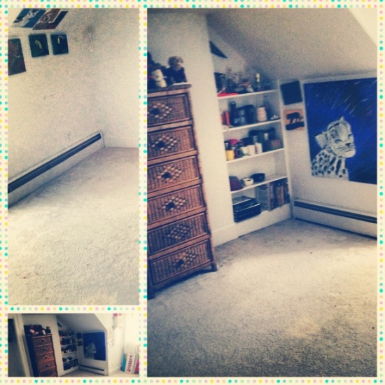cleanest room ever...