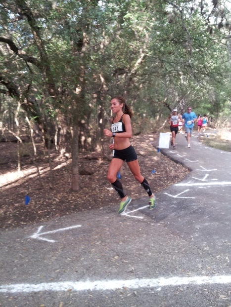 Training in Texas for my first marathon....