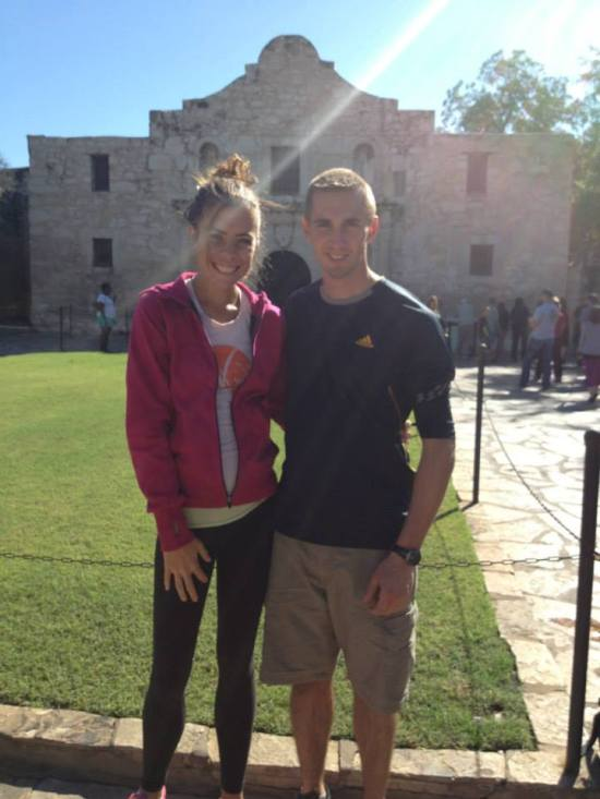 At the Alamo in San Antonio