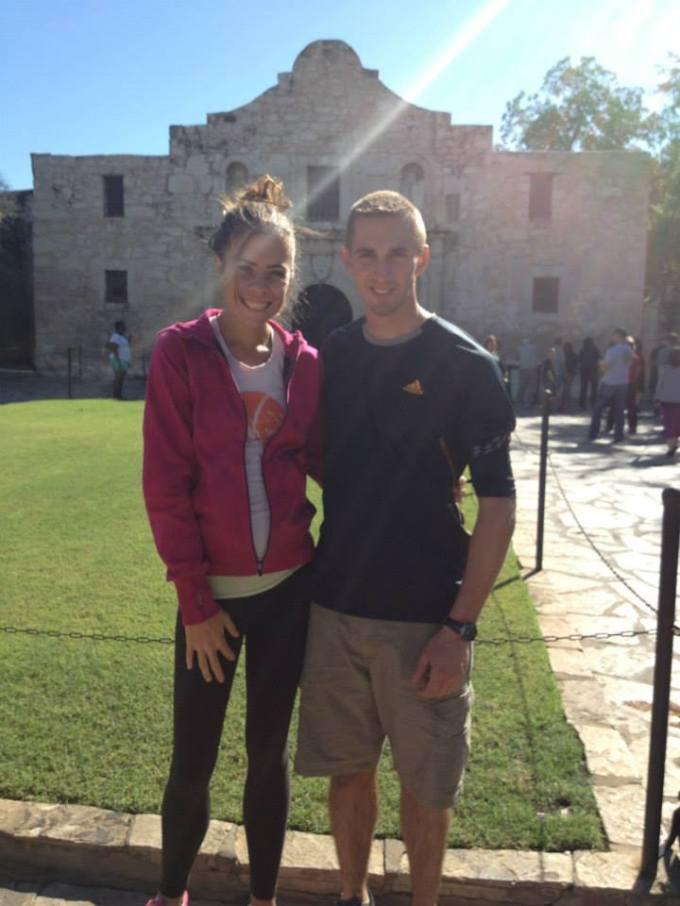 At the Alamo in San Antonio