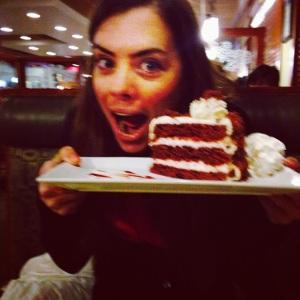 Matoris red velvet cake