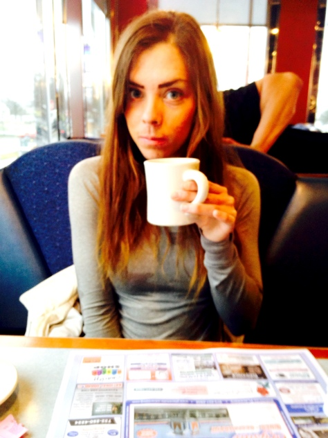 Another diner, another cup of coffee