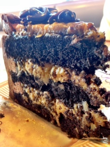 yummy, crusty cake!