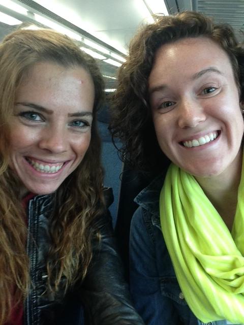 Train selfie