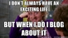 exciting life meme