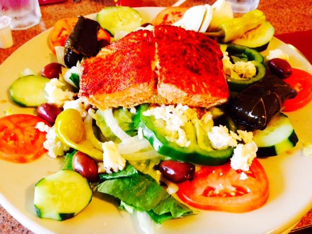Red Oak Diner Princeton greek salad