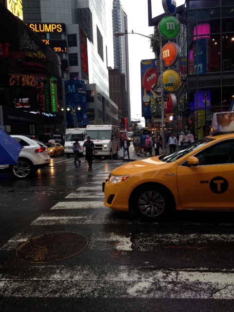 I went into NYC during rush hour once...it was terrifying.