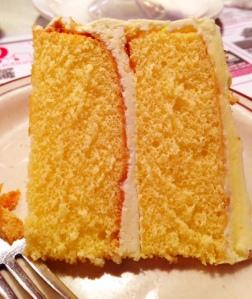 Club Diner Lemon Cake