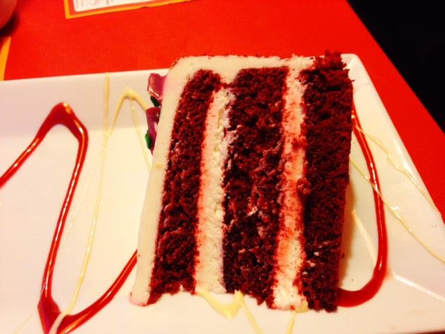 Whitman Diner Red Velvet Cake