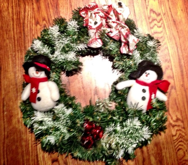 christmas wreath - Sears Christmas Decorations