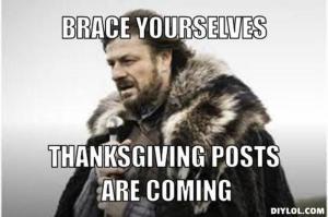 thanksgiving meme