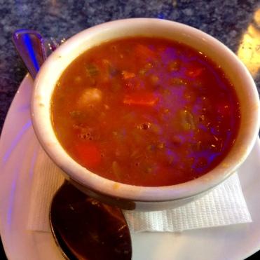 Town Diner lentils