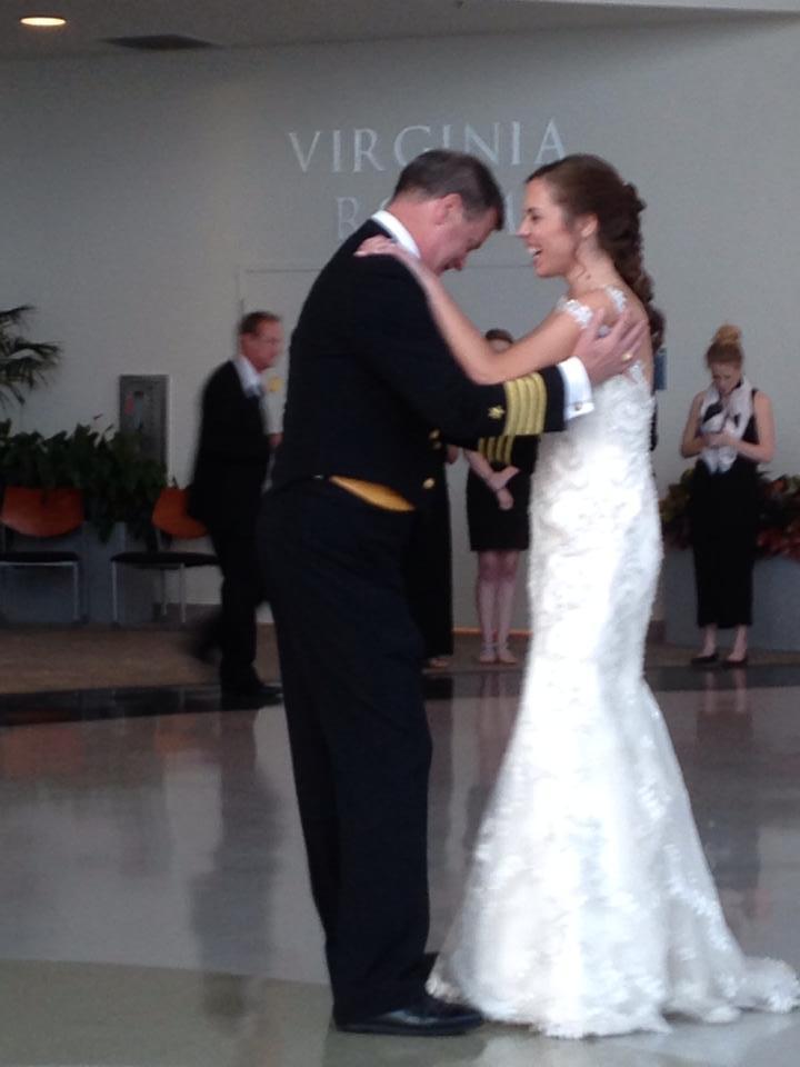 awkward father-daughter dance like we do...