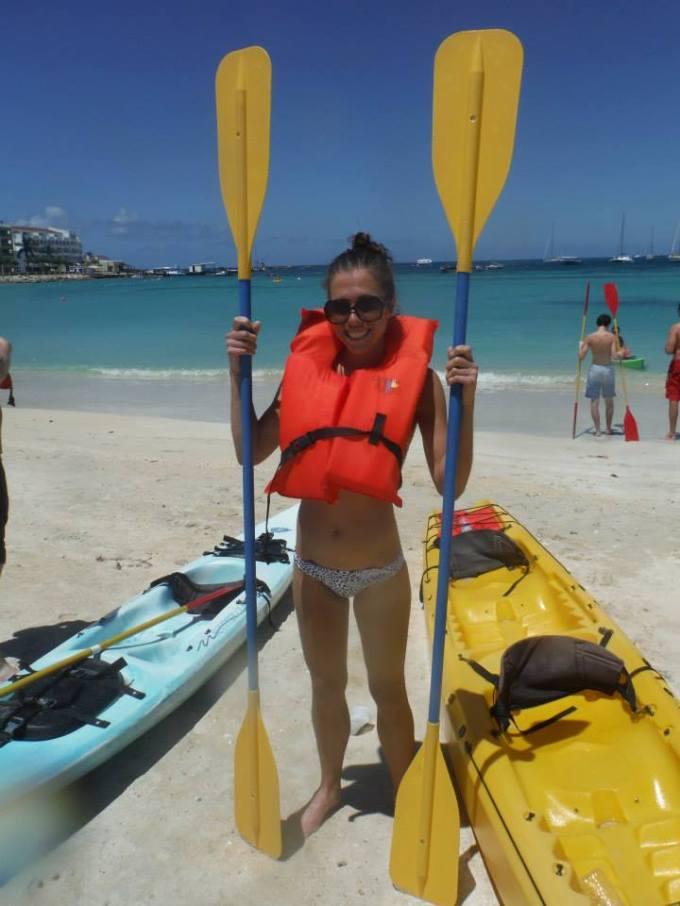 Kayak ready