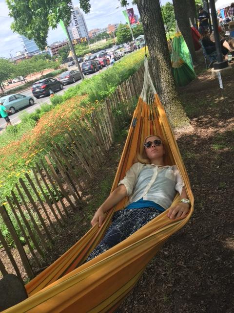 I don't think I hammocked right ;)