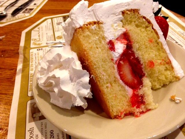 Lamp Post Diner Strawberry Shortcake