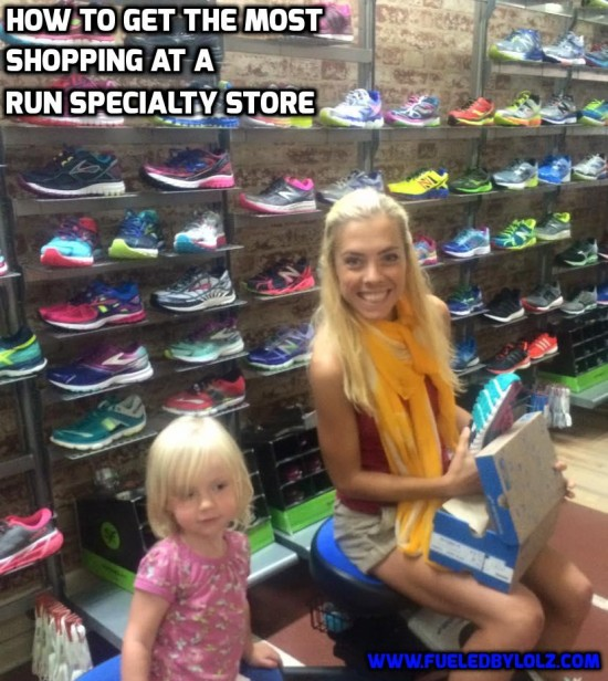 How to get the Most Shopping at a Run Specialty Store