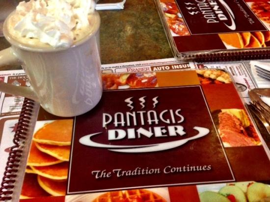 pantagis diner coffee