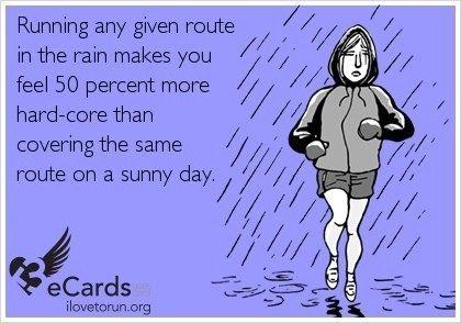 rainy run meme