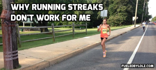 Why Running Streaks Don't Work For Me