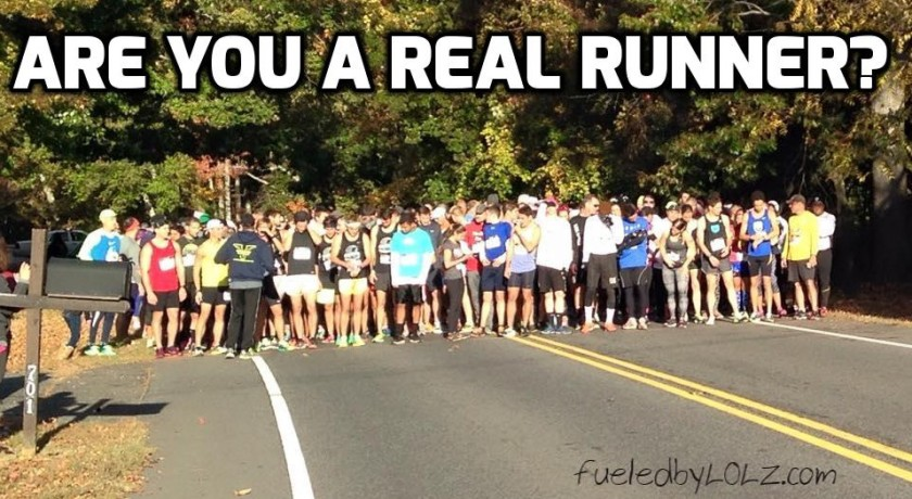 Are You a Real runner