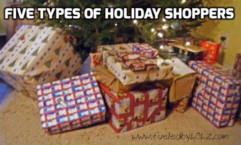Five Types of Holiday Shoppers