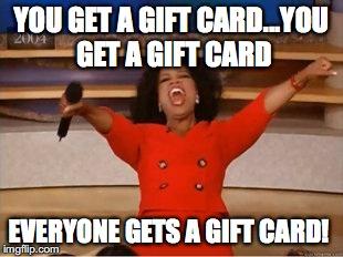 gift card meme
