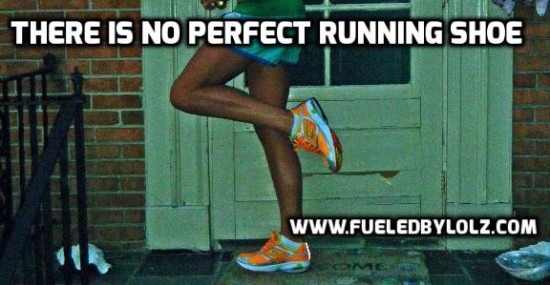 There is no perfect running shoe