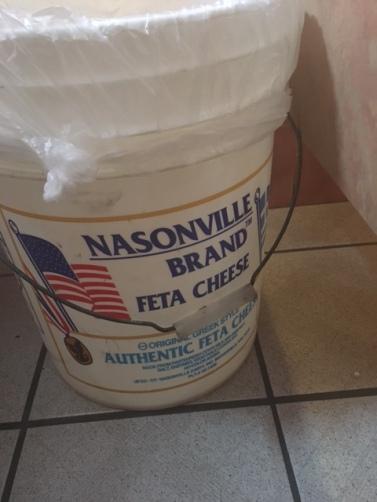 That's a lot of feta