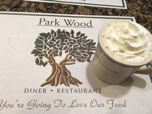 Park wood diner coffee