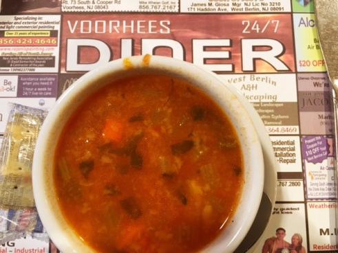 voorhees diner minestrone soup