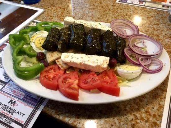 Voorhees diner greek appetizer