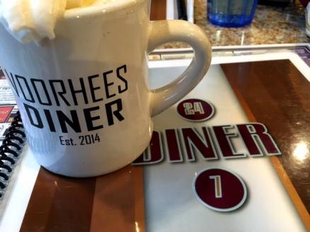 Voorhees Diner coffee