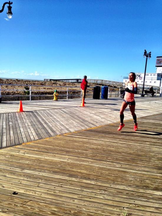 The last mile at Atlantic City was headwind