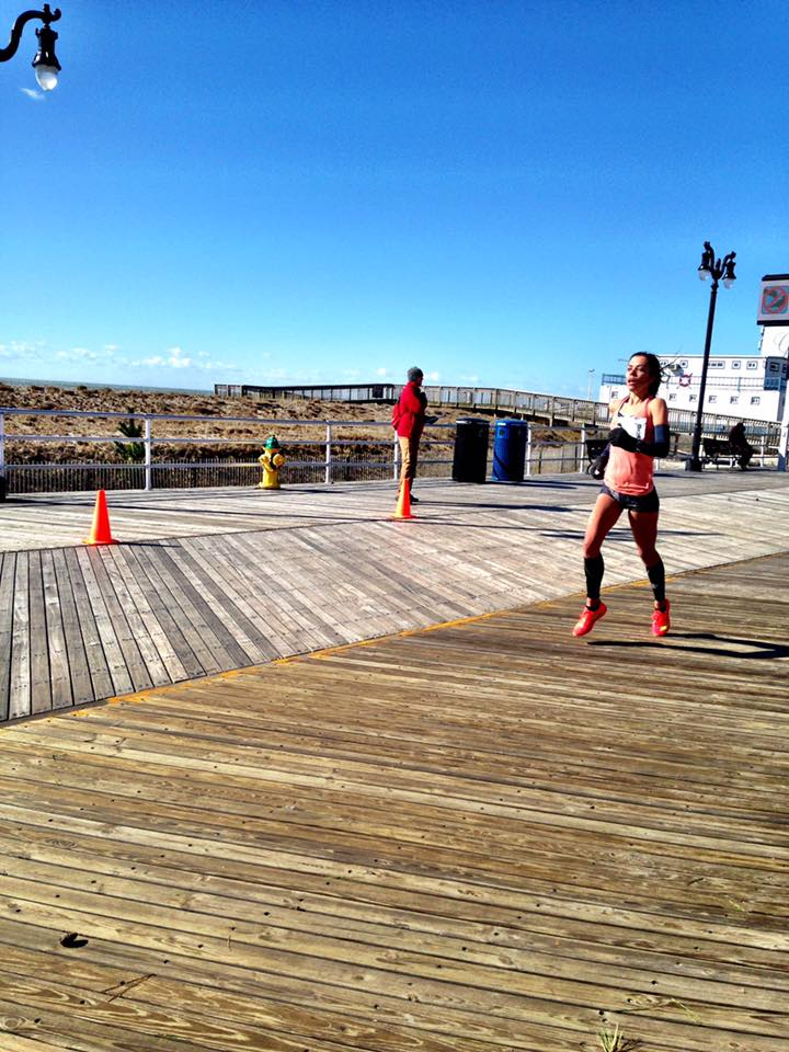 The last mile at Atlantic City was headwind