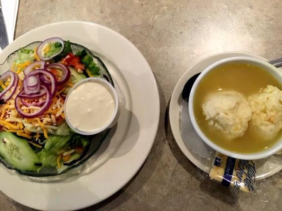 Tropicana Soup and Salad